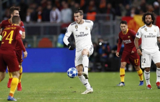 As Roma kalah 0-2 dari Real Madrid.